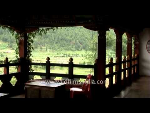 Wangdichholing in Bumthang, central Bhutan