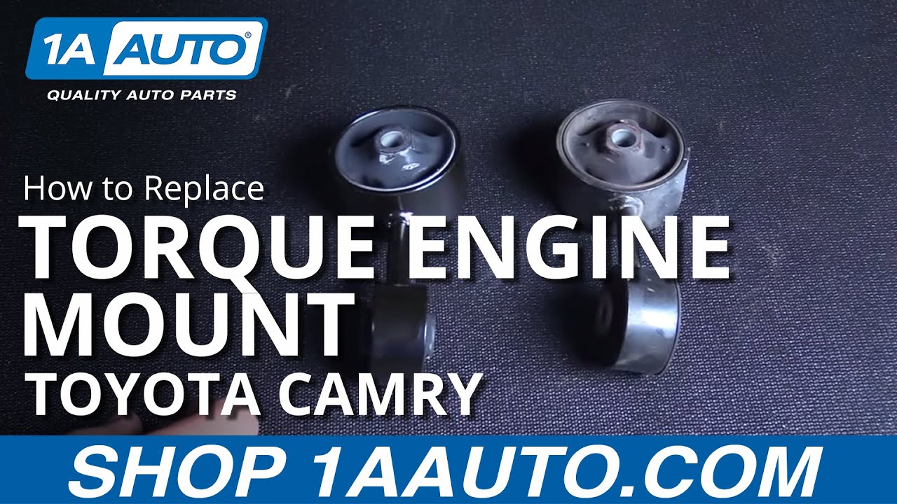 How To Replace Install Torque Engine Mount 1997 01 Toyota Camry And 1999 Supra Diagram Solara