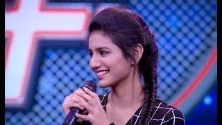 Priya Prakash Varrier Singing | Eeran Megham song | Chithram | Trendy