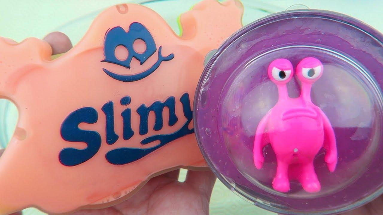 Alien Putty Mixing With Slimy Store Bought Slime !