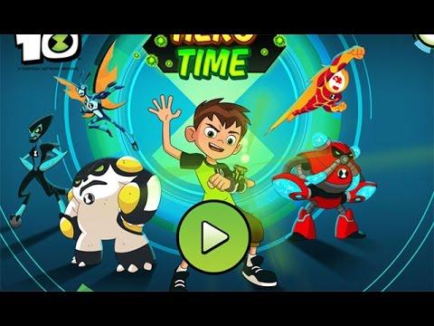 Ben 10 Hero Time - игры Бен 10