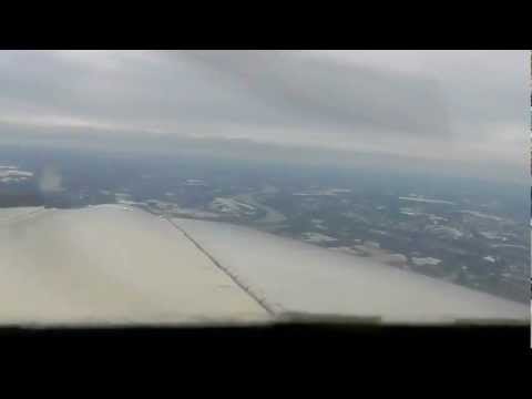 Takeoff + Landing & Taxi (Piper Tomahawk) at KHFD Brainard - HD