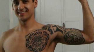 Video Tatuagem Maori peito e braço By Jack5 download MP3, 3GP, MP4, WEBM, AVI, FLV Agustus 2018