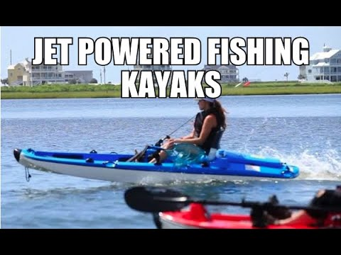 Jet Powered Fishing Kayak - JetANGLER The New Jet Powered Kayak!