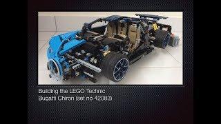 Building the LEGO Technic Bugatti Chiron