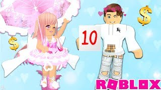 BOYFRIEND RATES MY EXPENSIVE OUTFITS IN ROYALE HIGH! Roblox Royale High