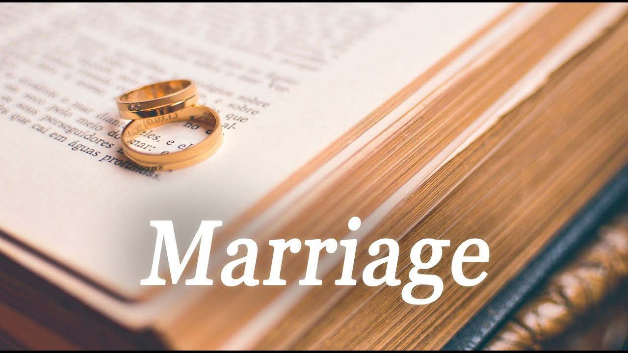 Marriage | Tamil Christian Message | Meaning & important advice for  Christians
