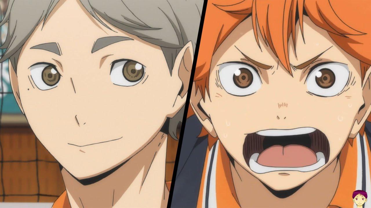 haikyuu ����� episode 21 anime review suga vs aoba