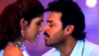 Telugu Romantic Song - Tella Tellani Cheera - Venkatesh, Anjala Zaveri - Devi Putrudu