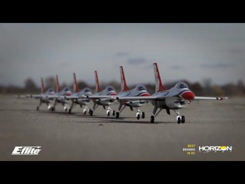 Quick Look: E-flite F-16 Thunderbirds 70mm EDF BNF Basic & PNP