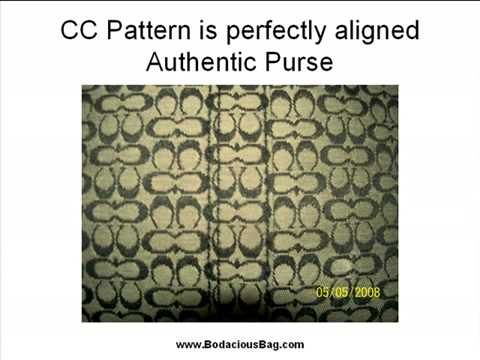 You How To Spot A Fake Coach Purse Few Great Tips