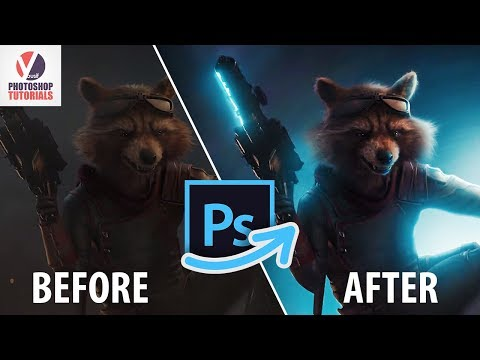 Avengers : Endgame SCREENSHOT edit │ Photoshop Tutorial thumbnail