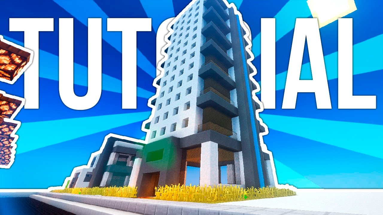 Como hacer un edificio moderno de oficinas en minecraft for Minecraft moderno