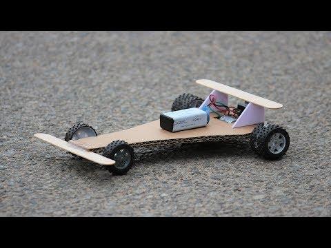 How To Make a DC motor Car