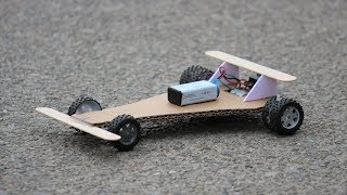 How To Make a DC motor Car
