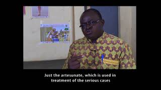VOX Burkina Faso: Dr Yacouba, NMCP Coordinator, on benefits of SMC