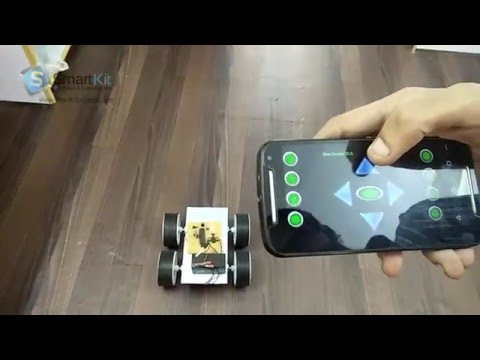 Robotic vehicle Controlled By Android App using 8051 Based Microcontroller