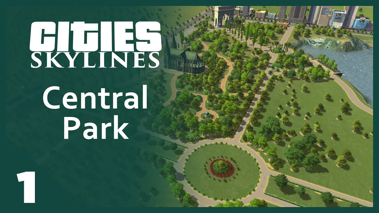Cities Skylines Paths To Parks