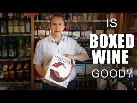 Is Box Wine Good? | The Quality Of Wine Available In Boxes Is Increasing #026