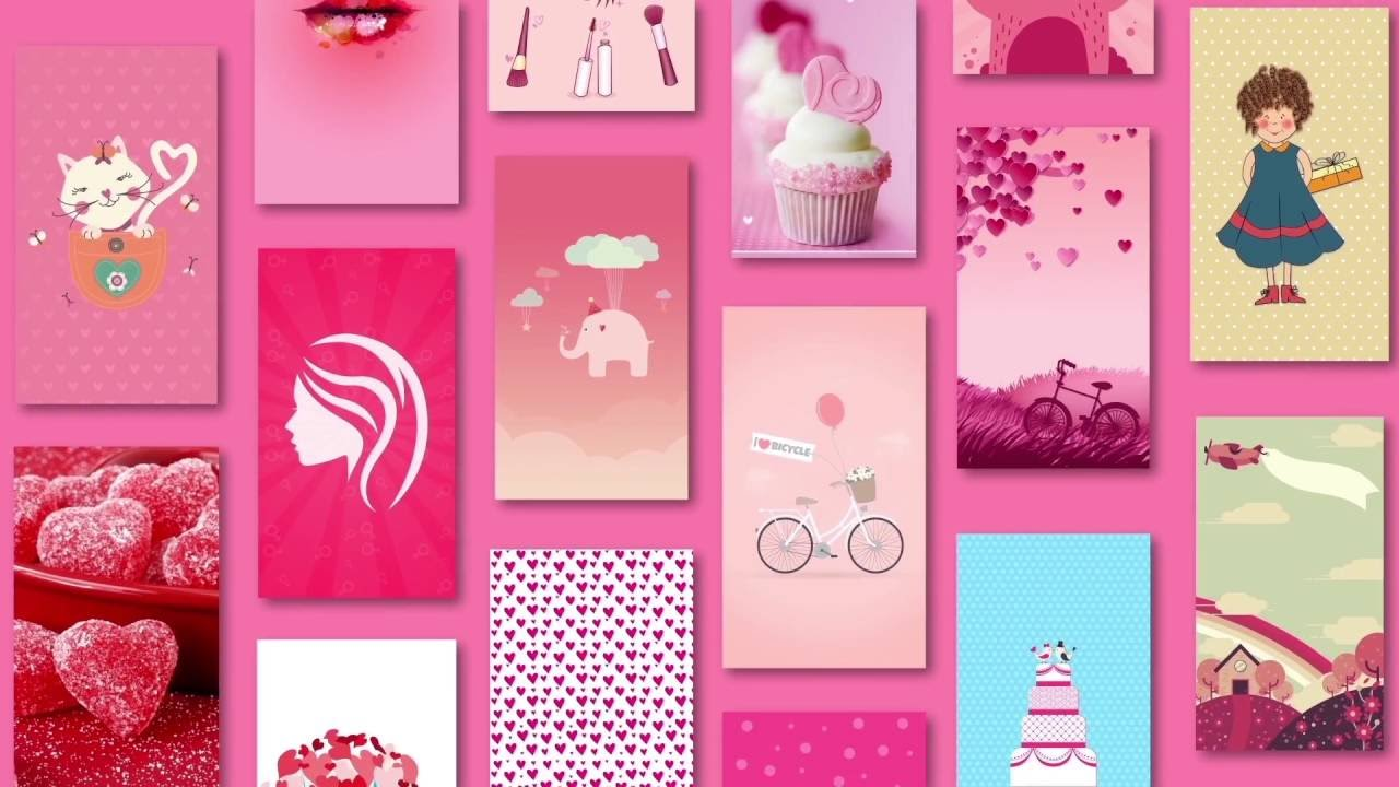 Cute Girly Wallpapers HD for Android - YouTube