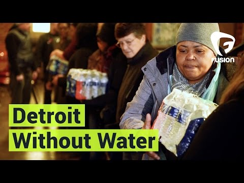 Detroit Water Shutoff: Thousands Are Struggling To Pay For Water