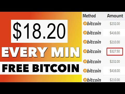 Earn $18.20 Free Bitcoin Every 60 Seconds! (NO INVESTMENT) 2021