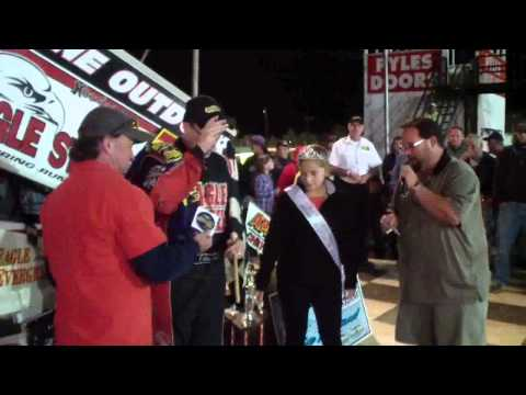 Port Royal Speedway All Star Sprint Car Victory Lane 9-06-13