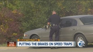 Putting the brakes on speed traps