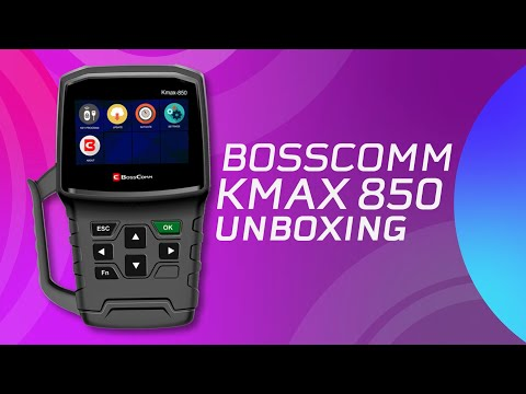 Bosscomm Kmax850 Unboxing