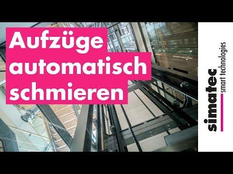 Aufzüge Automatisch Mit Simalube Schmieren