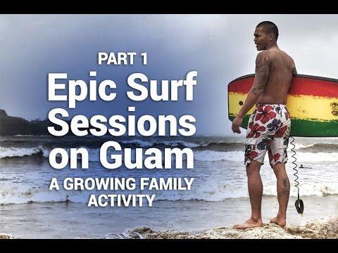 Epic Surfing on Guam + Best Sunday Eats