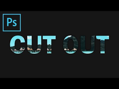 photoshop:-cut-out-text-effect-(tutorial)