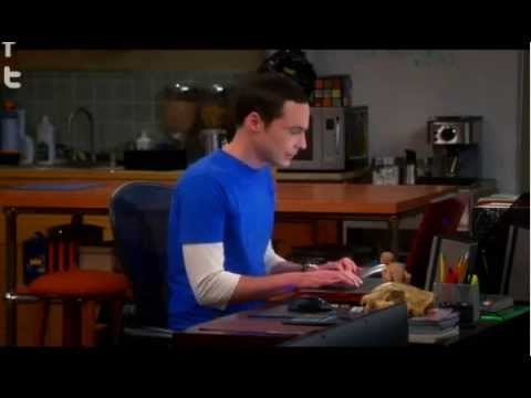 Sheldon has to urinate! Here comes the waterworks! ( the big bang theory )