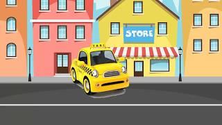 Dạy bé nhận biết phương tiện giao thông | Em tập nói xe taxi, xe tải | Dạy trẻ thông minh sớm
