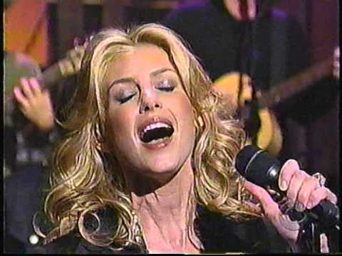 Faith Hill Cry on David Letterman 2002
