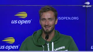 "Daniil Medvedev: ""When you serve like I did today it helps a lot!"" 