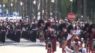 Glendora HS - The Voice of the Guns - 2014 Loara Band Review