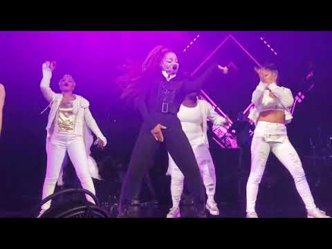 Janet Jackson  ControlWhat Have You Done For Me LatelyThe Pleasure Principle Concert Performance