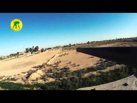 Iraqi Army Abrams GoPro footage in the Battle of Tharthar against ISIS