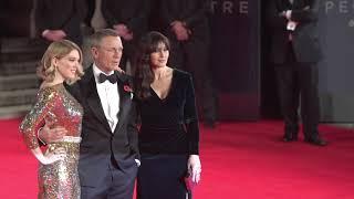 Daniel Craig, Monica Bellucci, Lea Seydoux at 'Spectre' World Premiere