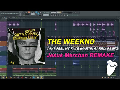 The Weeknd - Cant Feel My Face (Martin Garrix Remix) [FL Studio Remake + FREE FLP]