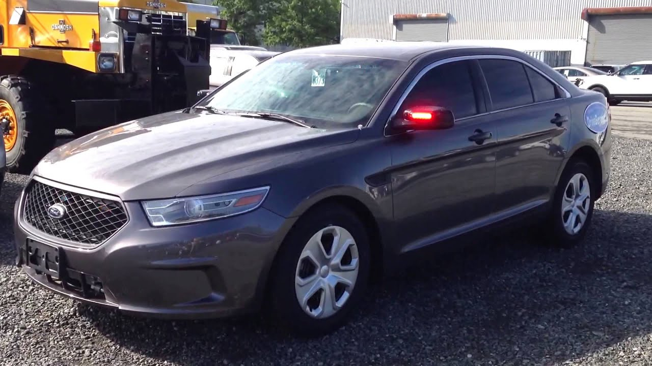Ford Police Interceptor Sedan Unmarked Youtube