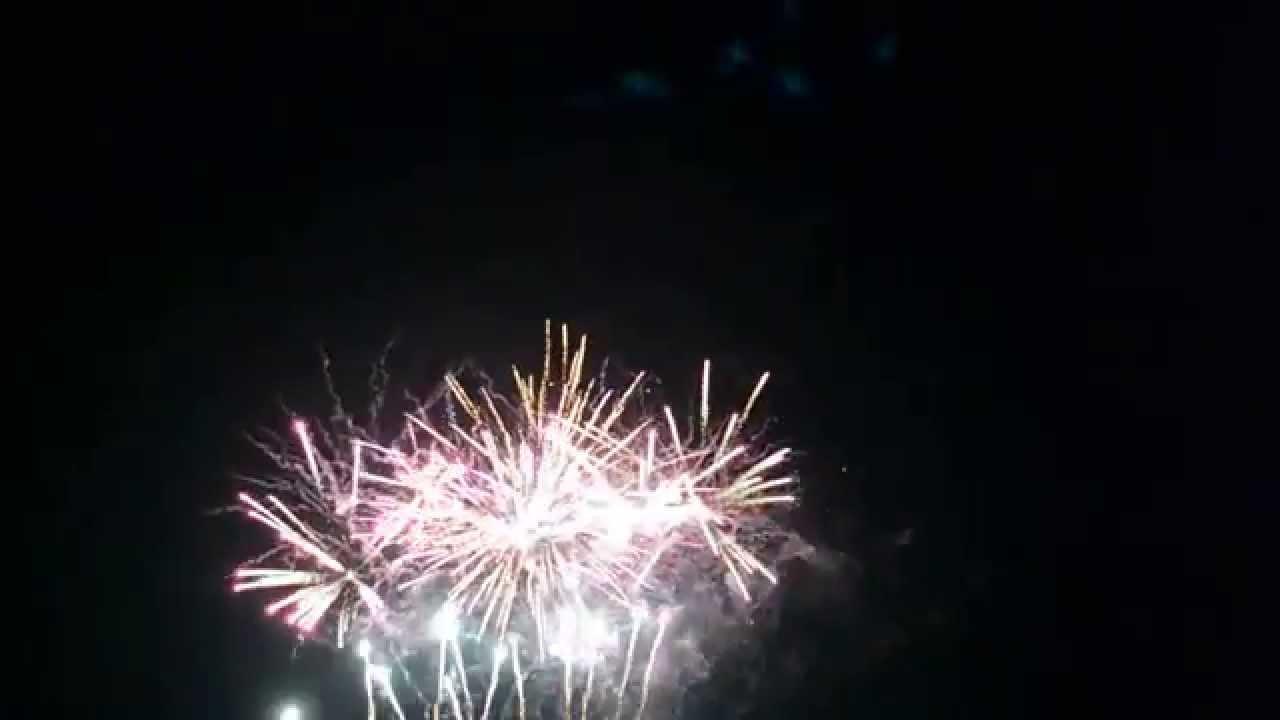 Backyard Fireworks : Floyd Lake Backyard Fireworks Display Part 2  YouTube