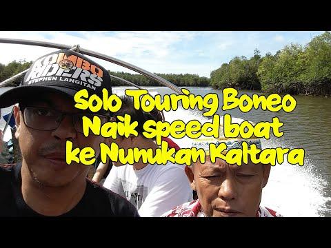 Naik speed boat ke Nunukan Kaltara, hari-22 Solo Touring Borneo