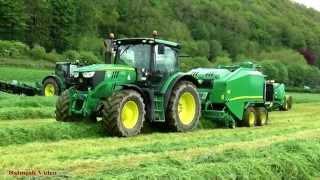 Tallis Amos Grassland Demo - John Deere Balers.