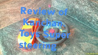 Review Of Kanchan toys super steering rc car...