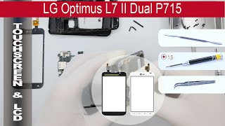How to replace 🔧 📱 Digitizer (Touch screen) LG Optimus L7 II P715(, 2015-05-13T16:41:19.000Z)
