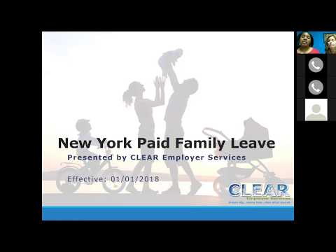 Replay for CLEAR NY Family Leave Webinar