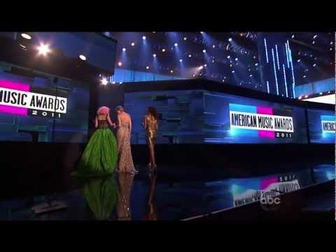 Nicki Minaj wins best hip hop album AMA Full Video [Good Quality][2011]