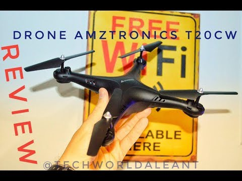 DRONE AMZTRONICS T20CW /// REVIEW